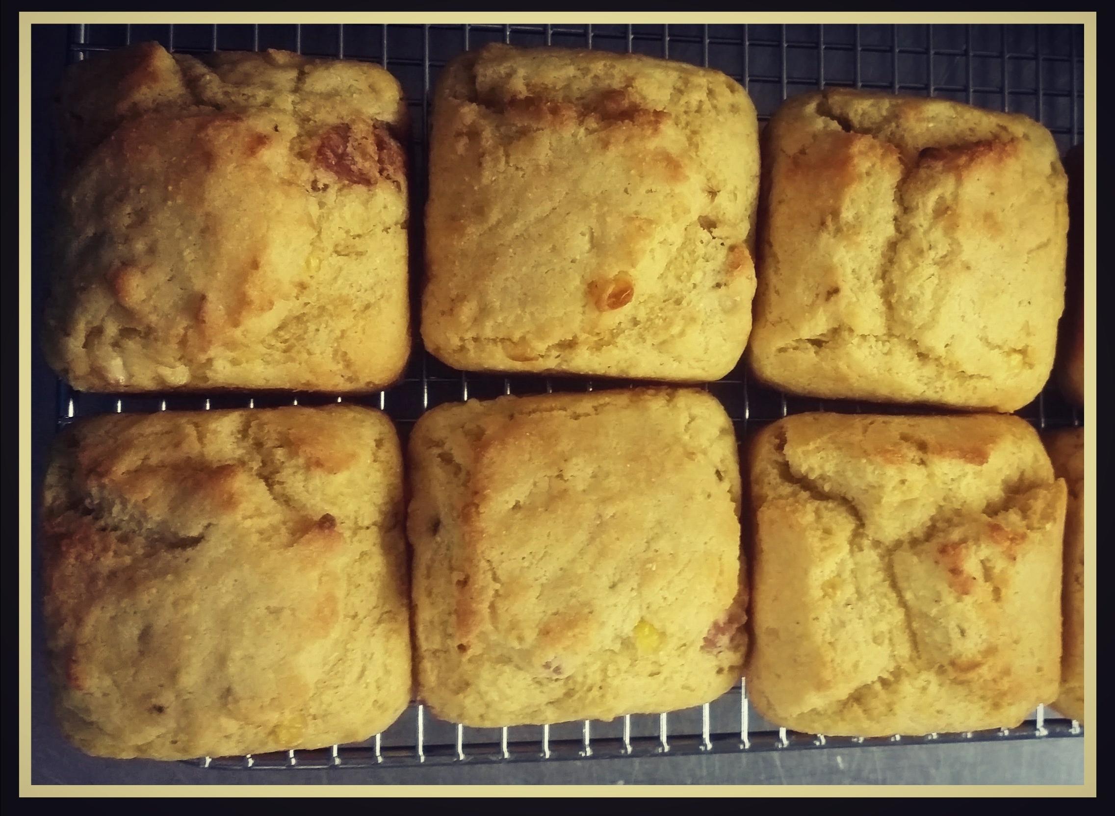 Green Chile Bacon Cornbread