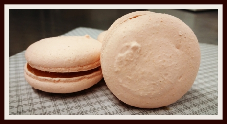 Ginger & Apricot Macarons